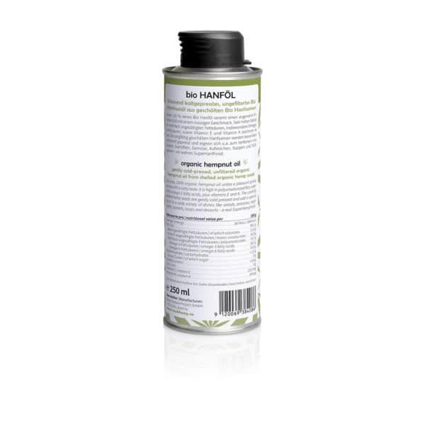 Medihemp BIO kendermagolaj (250 ml)