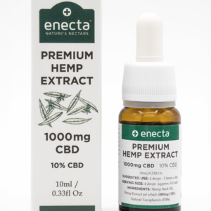 ENECTA 10% teljes spektrumú CBD olaj 10ml (1000mg)