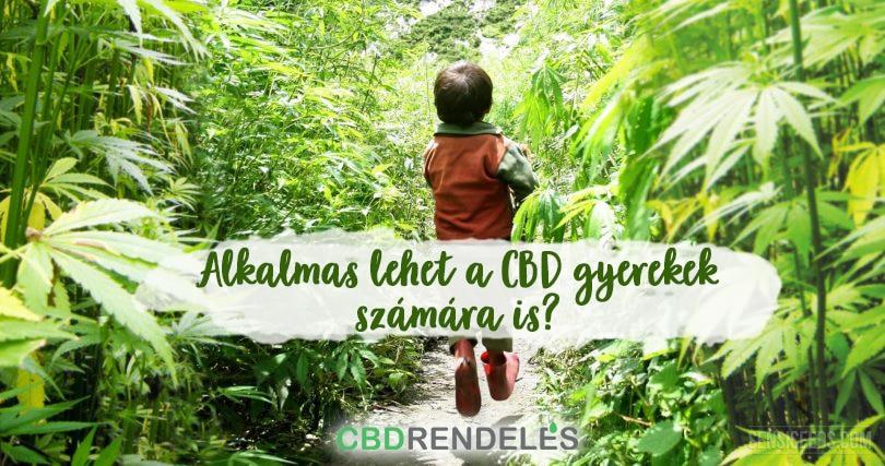 CBD olaj gyermekek számára
