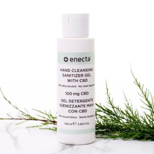 ENECTA Kézfertőtlenítő Gél (100 mg CBD)